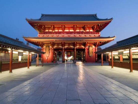 A temple of Tokyo